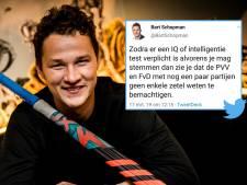 Lot VVD-raadslid Bart Schopman onbeslist na omstreden IQ-tweet