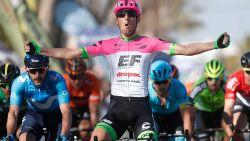 Modolo neemt revanche in chaotische sprint Ruta del Sol, aangereden Pool van Lotto-Soudal zit weer op de fiets