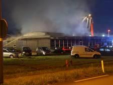 Grote brand bij garage in Eibergen