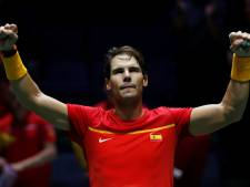 Spanje via titelhouder verder in Davis Cup