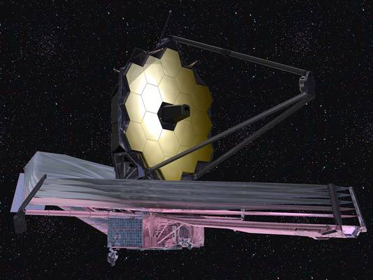 De James Webb space telescope. De opvolger van de Hubble.