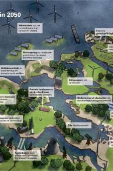 Zo ziet koningin Amalia Zeeland in 2050