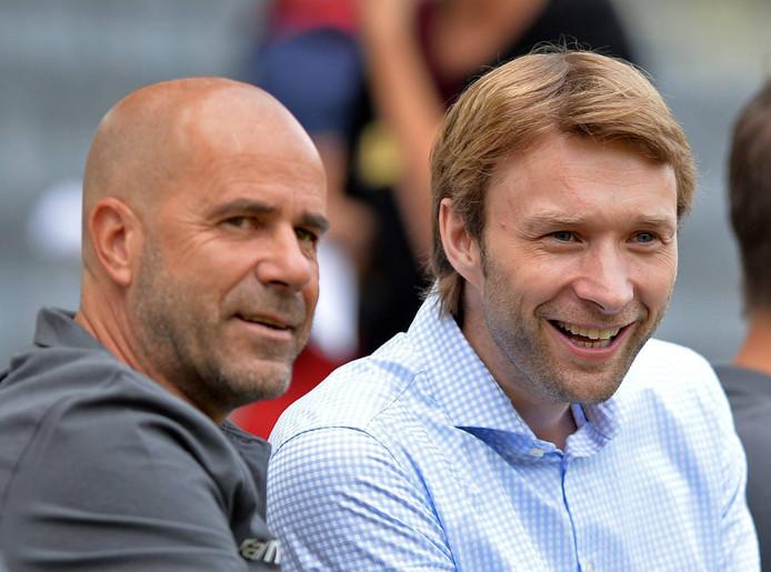Peter Bosz en Simon Rolfes.