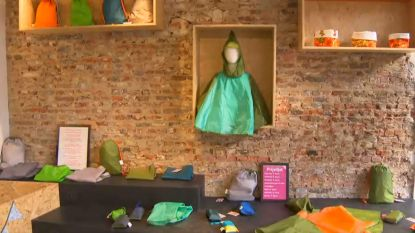 Kringloopwinkel hergebruikt achtergelaten spullen Tomorrowland