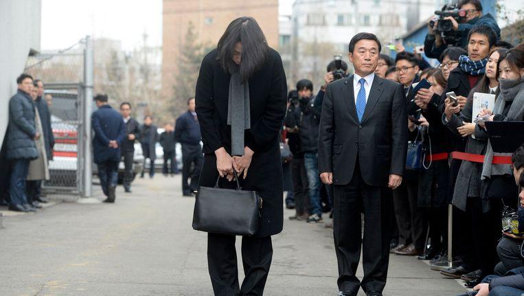 Cho Hyun-ah, voormalig vicepresidente van Korean Air.