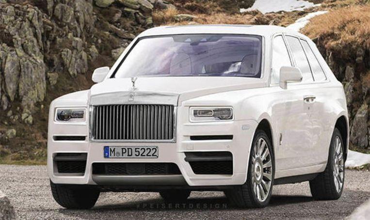 Zo zou de Rolls-Royce Cullinan eruit kunnen zien