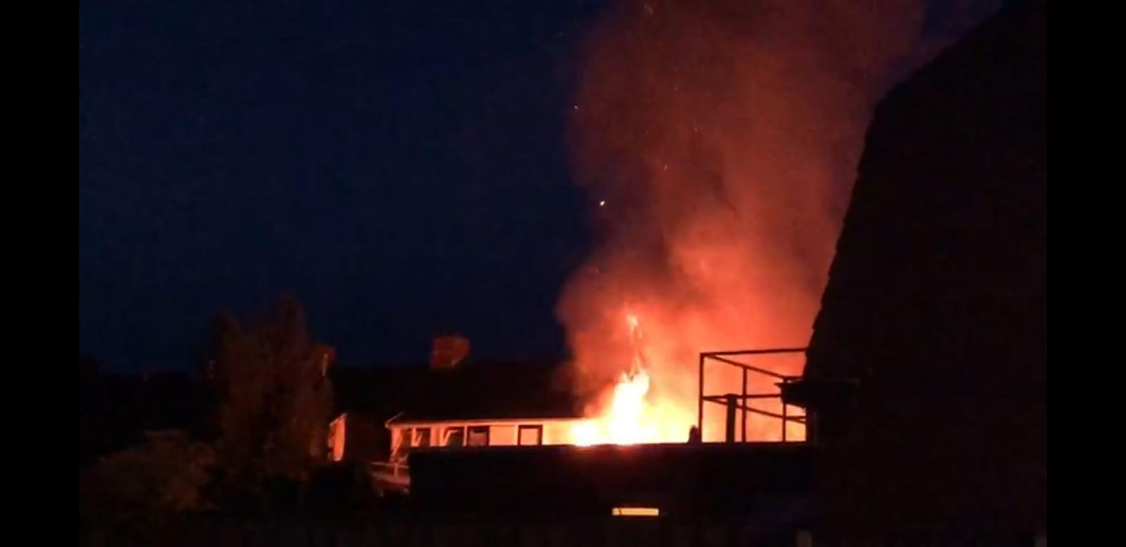 De uitslaande brand in Oldenzaal