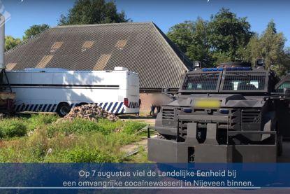 Omgebouwde manege blijkt Nederlands grootste cocaïnewasserij, 13 Colombianen en 4 anderen geklist