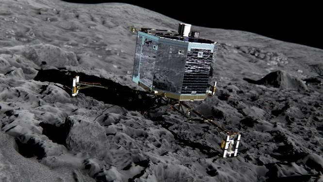 Komeetlander Philae neemt contact op met aarde