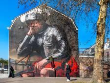 Slapende ridder waakt over Utrechts Westplein