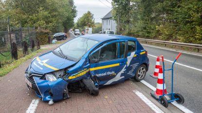Drie gewonden bij ongeval op Ninoofsesteenweg