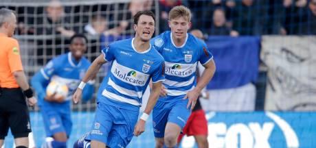 Verdediger Lam maakt vier maanden na voetbreuk rentree op veld PEC Zwolle