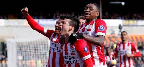 PSV redt het vege lijf in Venlo dankzij late goal Lozano