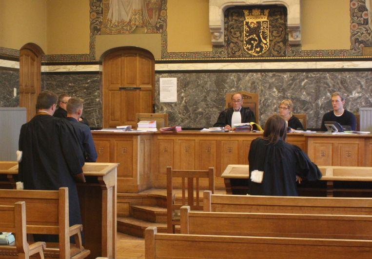 De politierechtbank van Oudenaarde.