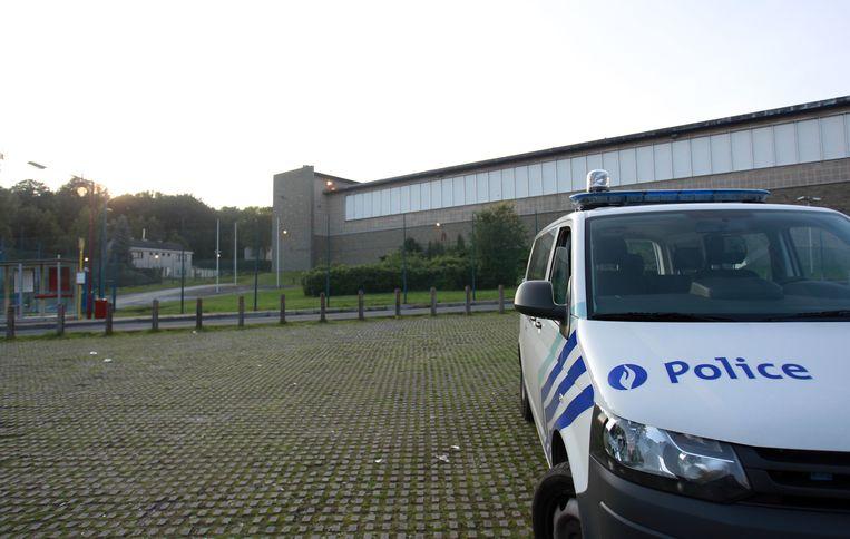 De gevangenis van Jamioulx.