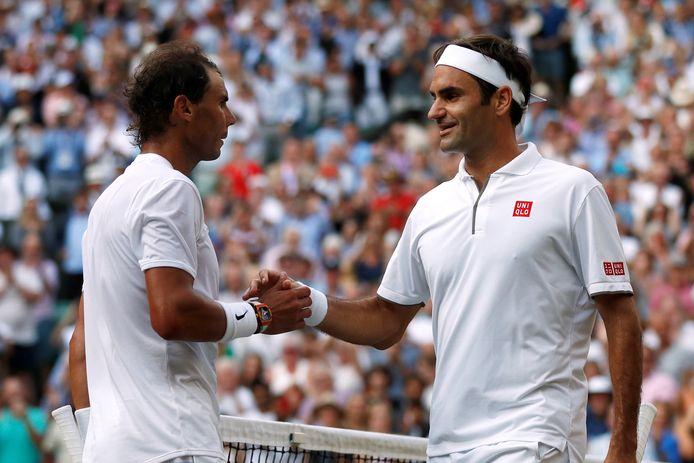 Wimbledon 2019: 40e et (pour l'instant) dernier duel entre Rafael Nadal et Roger Federer.