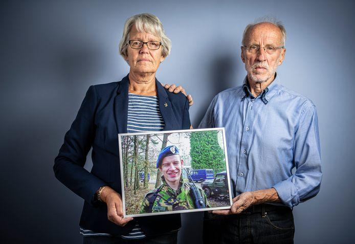 Greet en Henk, de ouders van Jeroen Severs.