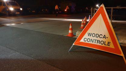 Lokale politiezones controleren 1.600 chauffeurs tijdens Wodca-nacht