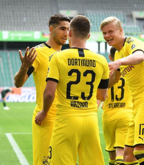 Dortmund s'impose à Wolfsburg, Hazard à l'assist