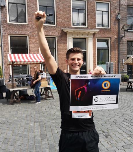 Jorden uit Enschede haalt 4000 euro op voor Stichting Ushersyndroom: 'Echt geweldig'