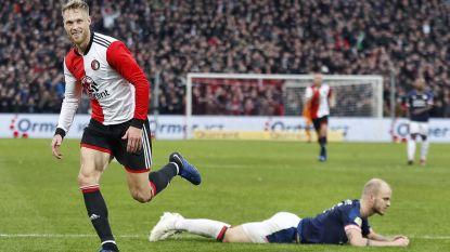 Feyenoord bezorgt PSV eerste nederlaag dankzij ijzersterke eerste helft