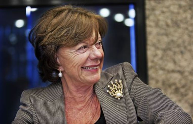 EU-commissaris Neelie Kroes ontvangt volgend jaar de Aletta Jacobs Prijs. ANP Beeld