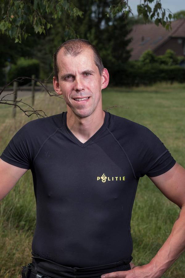 Patrick Jacobsen, hoofdagent bij de politie in Doetinchem.