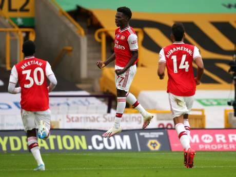 LIVE | Arsenal op voorsprong bij Wolves, Bloodworth pakt de dubbel met Wolfsburg