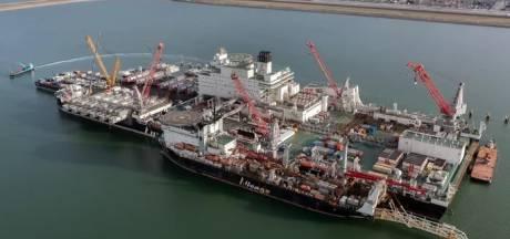 Nu definitief: grootste werkschip ter wereld maandagmiddag naar Vlissingen