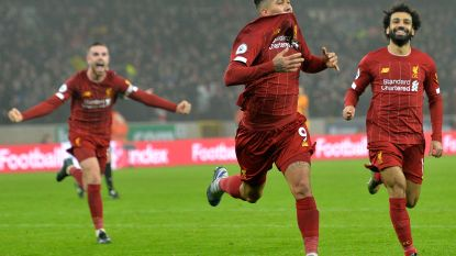 Wéér trekt Liverpool het pleit naar zich toe: Firmino trapt in slotfase winner binnen in Wolverhampton