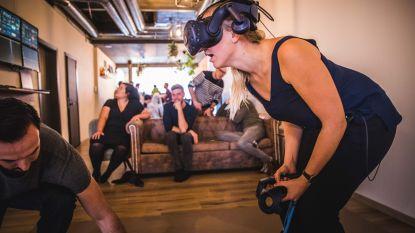 """Vrienden openen Gentse Virtual Reality Bar 'Level Up': """"Die pijl op mijn hoofd voelde net echt"""""""