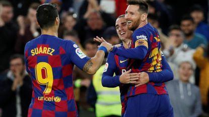 Barcelona zet Alaves eenvoudig opzij, Messi maakt met pareltje 50ste goal van 2019