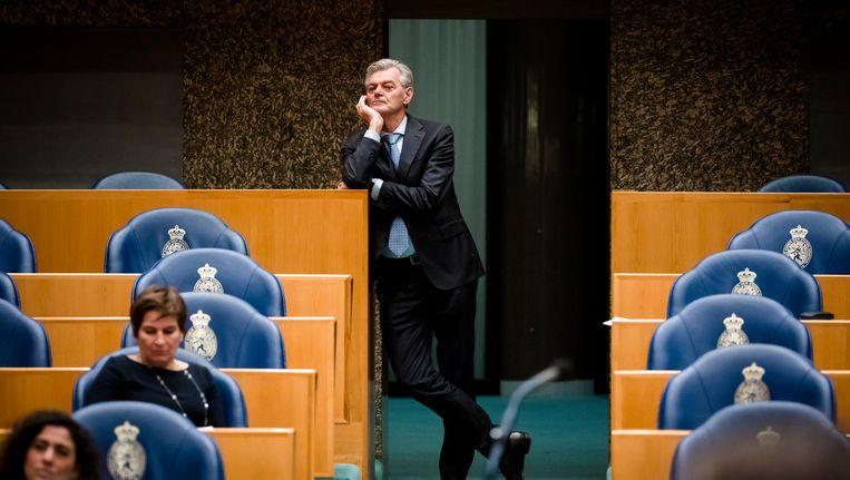 Martin van Rooijen van 50Plus in de Tweede Kamer. Beeld anp