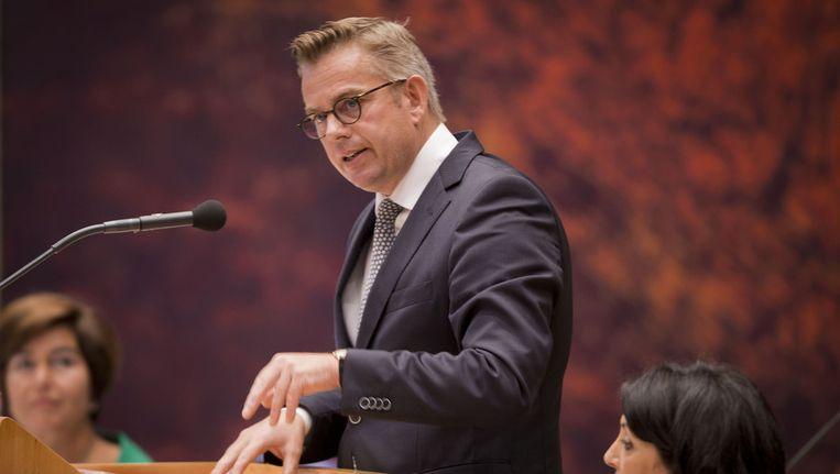 Gerard Schouw (D66): 'Als je niet uitkijkt weten ze straks alles van je' Beeld ANP