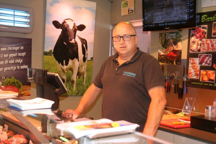 Erjon Sejdiraj kwam geregeld vlees kopen bij slager Danny Degroote.