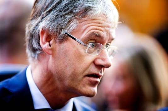 Arie Slob (CU) minister voor Basis- en Voortgezet Onderwijs en Media.