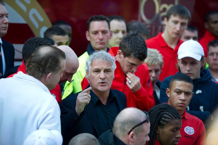 Fred Rutten was in maart 2012 de laatste trainer die bij PSV werd ontslagen.