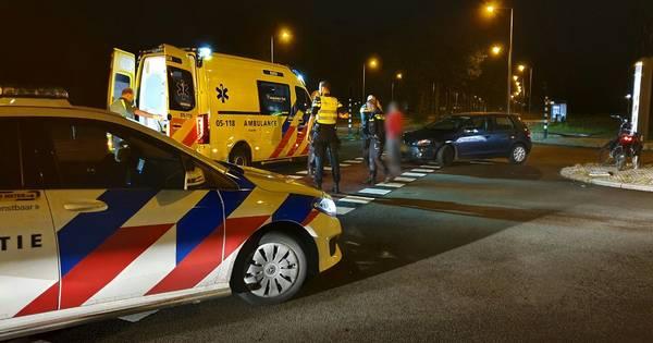 Fietser gewond bij aanrijding in Enschede.