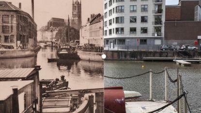 Vroeger en Nu: Portus Ganda, moderner maar niet mooier