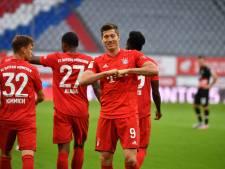 Swingend Bayern München met ruime cijfers langs Fortuna Düsseldorf
