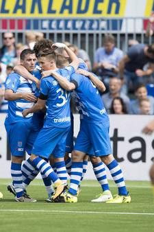 PEC Zwolle herstelt zich op tijd tegen Roda JC