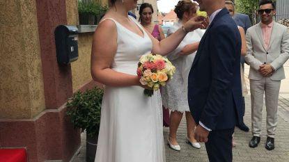 Schepen Lisa Houtman stapt in het huwelijksbootje