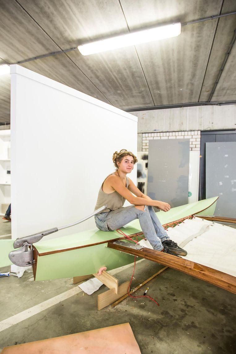 Eva Camfferman: 'Hierna wil ik naar de zeevaartschool' Beeld Eva Plevier
