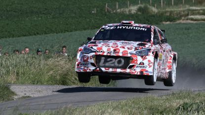 Thierry Neuville steekt zege op zak Rally van Ieper