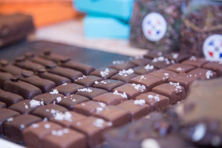 Er valt van alles te proeven bij het Origin Chocolate Event Beeld Origin Chocolate Event