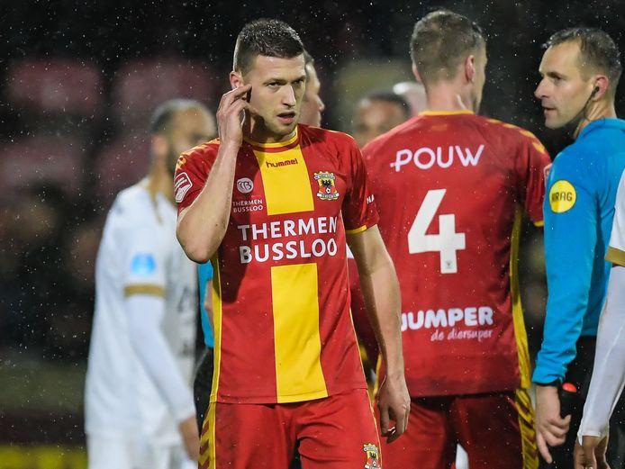 Alexander Bannink weet het: Go Ahead Eagles gaat niet naar de halve finale van de Toto KNVB-beker. FC Utrecht was donderdag een maatje te groot: 1-4.