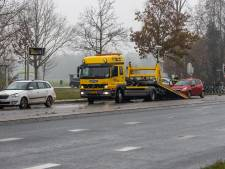 Drie auto's betrokken bij botsing in Leusden