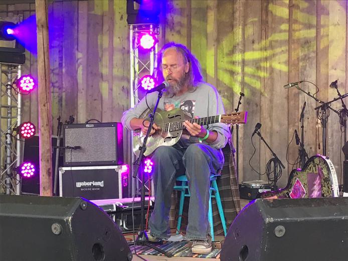 Bluegrass van oudgediende Charlie Parr uit de VS op de MF-zondag.