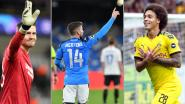 Kilometervreter Mignolet, Witsel 'mister 96%' en Belgische ploegen braafste én stoutste: de cijfers achter de groepsfase