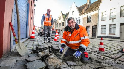 Dit jaar al 5.000 (!) meldingen over gebreken aan straten en groen in Brugge